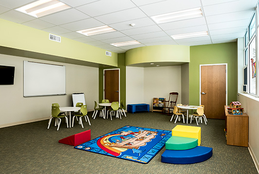 educational area construction